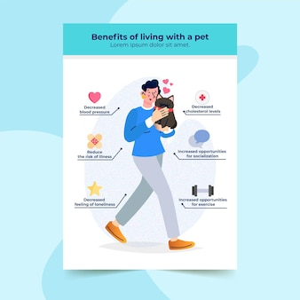 Vorteile des lebens mit einem haustier