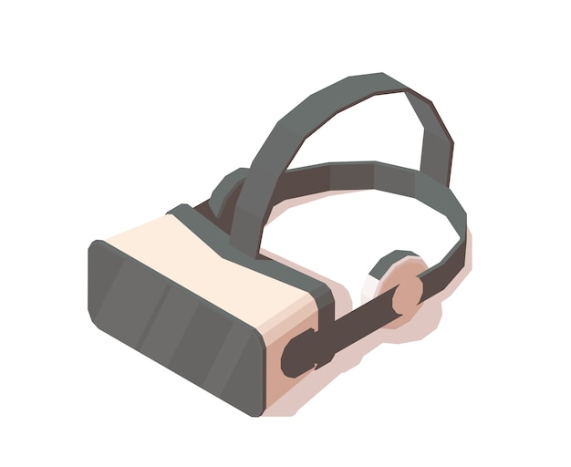 Vr-brille oder virtual-reality-helm