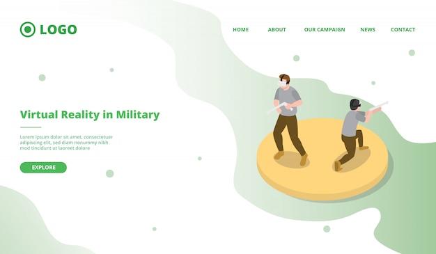 Vr oder ar für die militärische simulation
