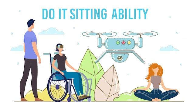 Vr-technologien für menschen mit behinderungen