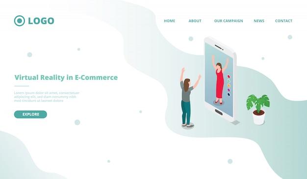 Vr virtuelle relität für e-commerce-shopping