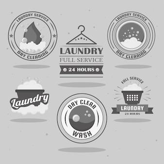 Wäscheetiketten stempel