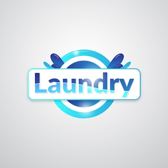 Wäscherei-business-logo-design