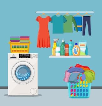 Wäscherei-zimmerservice