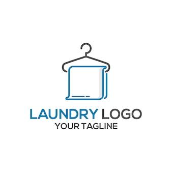Wäscheservice logo design