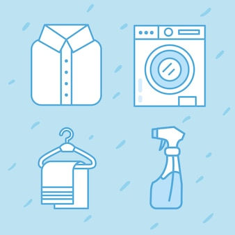 Wäscheservice-objekte