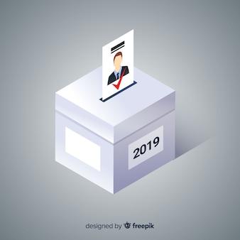 Wahl-box-konzept