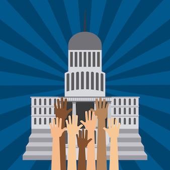 Wahlen tag design