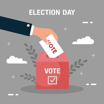 Wahltag illustration