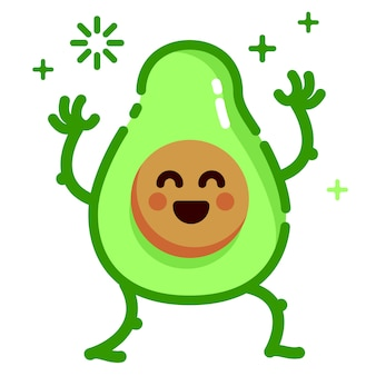 Wahnsinn avocado frucht