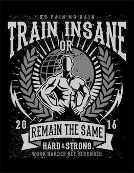 Wahnsinnig trainieren