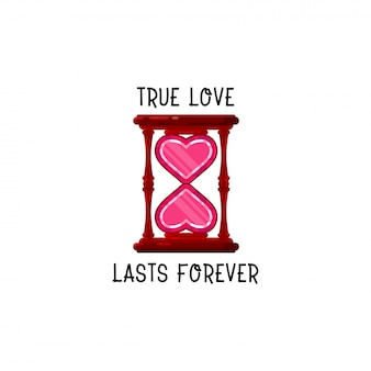 Wahre liebe hält ewig