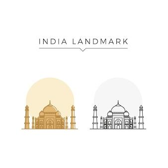 Wahrzeichen indien
