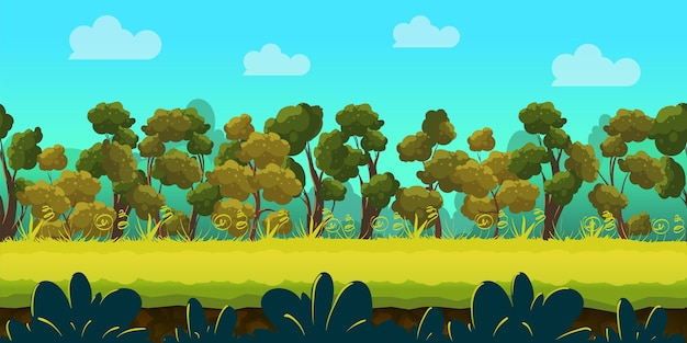Wald 2d spiel