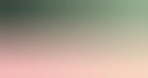 Waldgrün, seladon, rosenquarz, pfirsichsteigung tapetenhintergrund-vektorillustration.