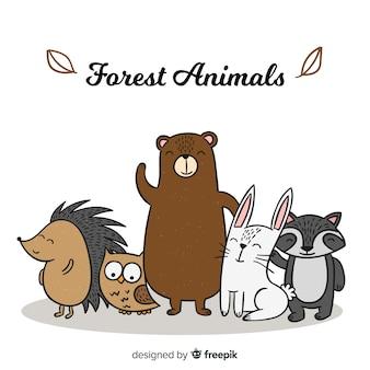 Waldtiersammlung