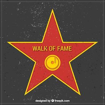 Walk of fame sterne hintergrund