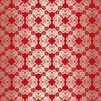 Wallpaper hintergrund mit einem eleganten design-muster