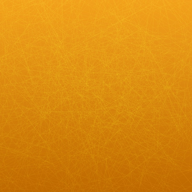 Wallpaper thema mit dünnen linien auf orange hintergrund