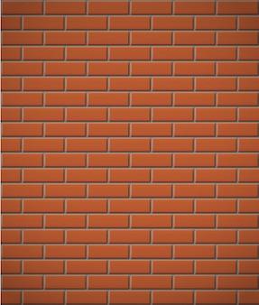 Wand des nahtlosen hintergrundes des roten backsteins