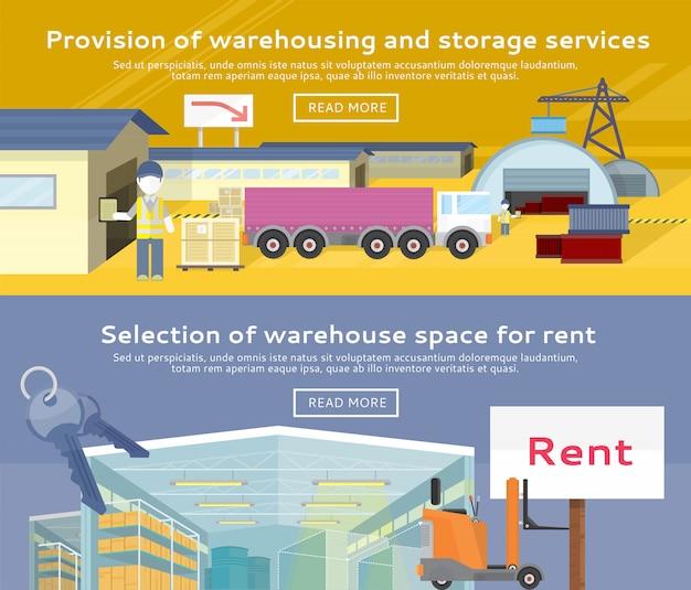 Warehouse storage service-produkt