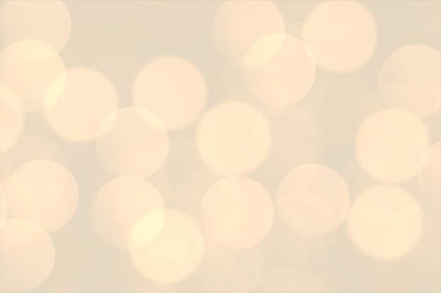 Warme bokeh blury beleuchtet schönen hintergrund