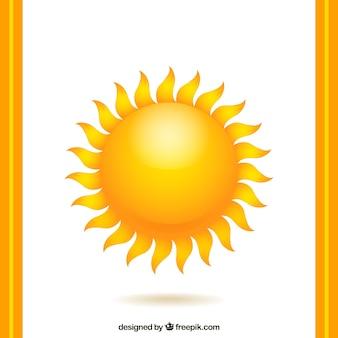 Warme sonne