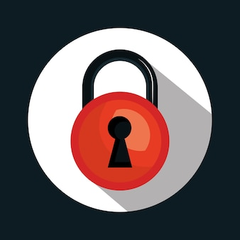 Warning sicheres passwort-system