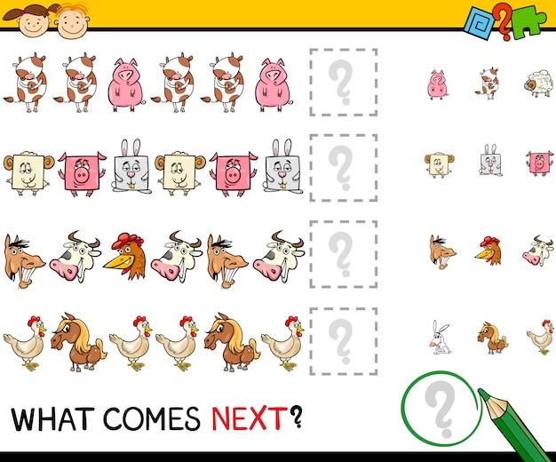 Was kommt als nächstes spiel cartoon