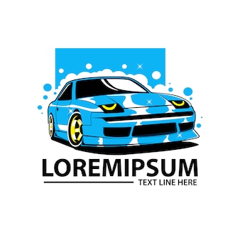 Waschen auto logo