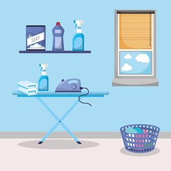 Waschküche innenraum