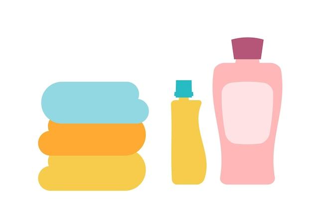 Waschmittel flaches illustrationsdesign isoliert design