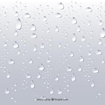 Wasser lässt hintergrund in der realistischen art fallen