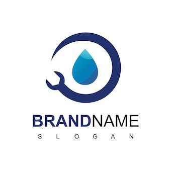 Wasser-sanitär-logo