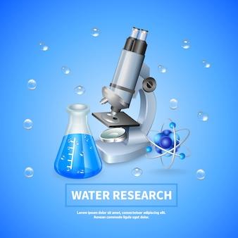 Wasserforschung hintergrund