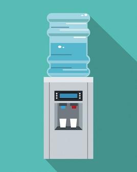 Wasserkühler ausrüstung büro