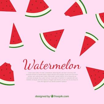 Wassermelone hintergrund