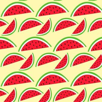 Wassermelone muster