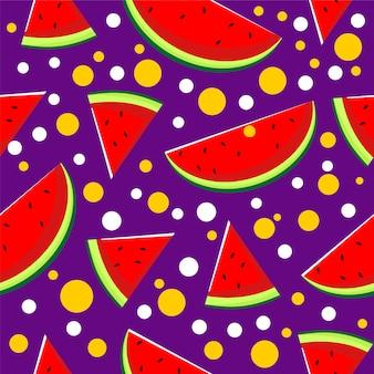 Wassermelone nahtlose muster
