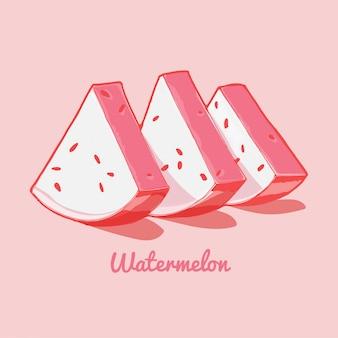 Wassermelone pink
