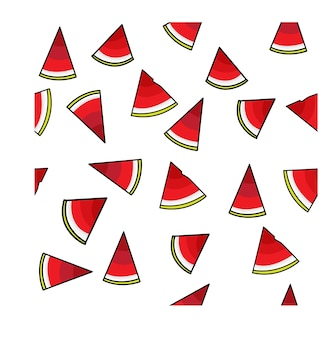 Wassermelonen-pudding-muster