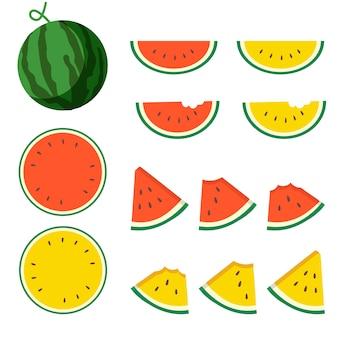 Wassermelonenpackung.
