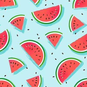 Wassermelonenscheibenmuster