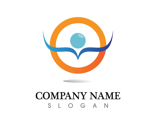 Wassertropfen logo template-vektor-illustration-design