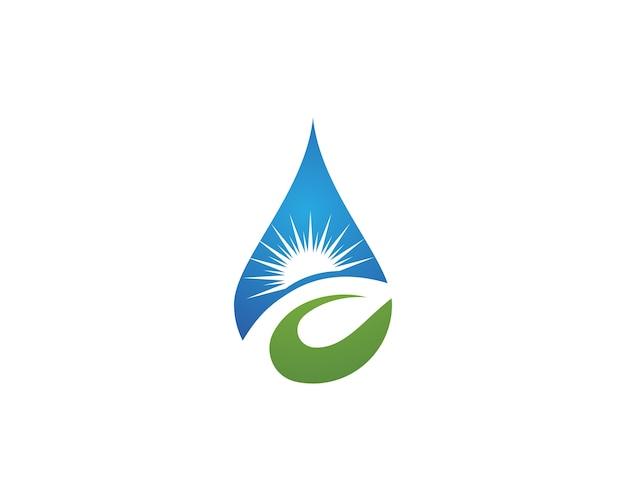 Wassertropfen logo vorlage