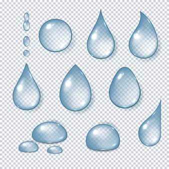 Wassertropfen realistisch gesetzt