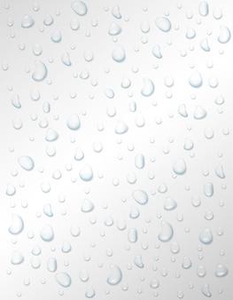 Wassertropfen regen oder spray