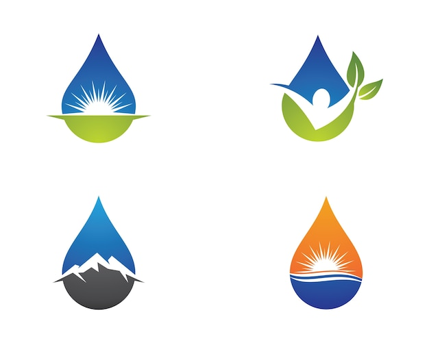 Wassertropfen Symbol