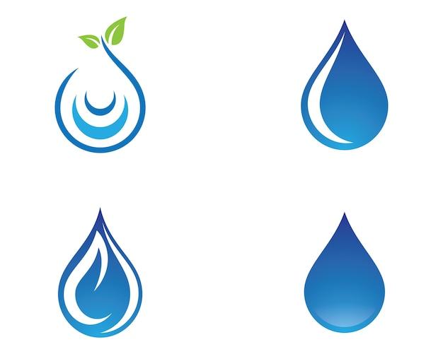 Wassertropfen-vektor-symbol