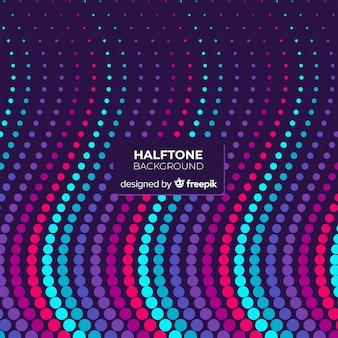 Wave-Halbton-Hintergrund
